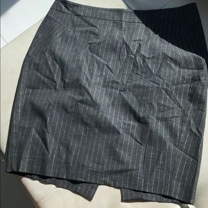 bebe Jackets & Coats - Gorgeous bebe grey and metallic silver skirt suit